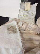 $140 Pom Pom At Home NWT Duvet Cover Organic Ruffles Child/Baby Linen/Cotton