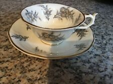 Antique Rockingham Tea Cup and Saucer. Pattern No 1405 or 1465.