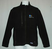 PATAGONIA Synchilla Fleece Full Zip Jacket Men's Black Size S