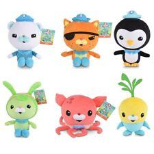 "6PCS/SET Octonauts captain Barnacles Kwazii Peso plush 12"" cute toy Kids Gift"