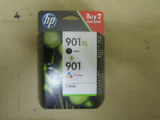 2x HP 901Xl, HP 901 orig. Druckerpatronen für HP OfficeJet SD519AE MHD 12.2020