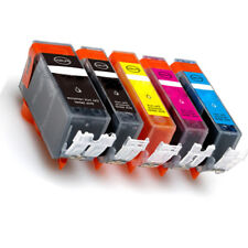 5 PK Ink Cartridges Combo + LED chip for 225 226 Pixma MG5120 MG5220 MG5320