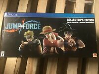 Jump Force: Collector's Edition - PlayStation 4 Disc-OPENED BOX