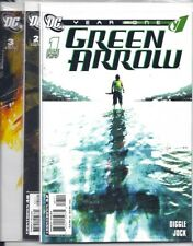 (2007) DC COMICS GREEN ARROW YEAR ONE #1 2 3 4 5 6 (of 6) JOCK ART! DIGGLE!