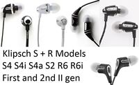 Genuine Klipsch Image S + R Series In Ear Headphones S4 S4a S4i II S2 R6 R6i
