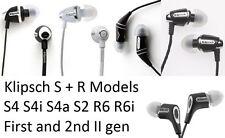 Klipsch Image S R Series In Ear Headphones S4 S4a S4i II S2 R6 R6i Earbuds