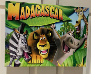 Madagascar Kids Canvas 40 X 30 X 2.5