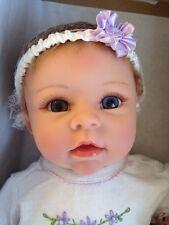 "Chloe's Look of Love Ashton Drake Vinyl Doll Linda Murray 22"" Real Touch MIB"