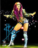 Sasha Banks ( WWF WWE ) Autographed Signed 8x10 Photo REPRINT ,