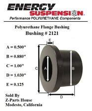 "(2121G)  7/8"" O.D. x 1/2"" I.D. x 1-1/32"" Polyurethane Flange Type Bushing"