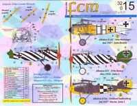 FCM Decals 1/32 ALBATROS D.III & ALBATROS D.V German Fighters Part 2