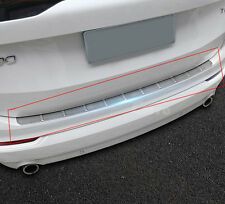 Stainless steel Rear Bumper Protector Sill Plate Guard For VOLVO XC90 2016-2017