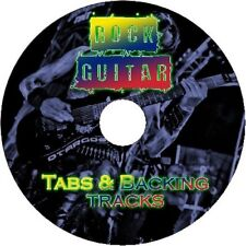 ROCK GUITAR TABS + BACKING TRACKS MEGA LIBRARY TABLATURE GREATEST HITS BEST OF