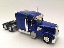 HO 1/87 TSH # 181 Freightliner Coronado XL Mid-Roof Tandem Axle Tractor - Blue
