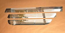 IVECO Stralis Front Bumber Trims Super Polished Stainless Stee 3 Pcs