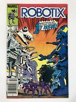 ROBOTIX #1 (1986) | CANADIAN NEWSSTAND PRICE VARIANT; MARVEL COMICS