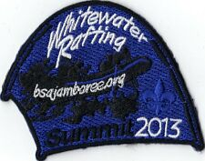 2013 National Jamboree Promo Tent Patch Series, Whitewater Rafting, Mint!