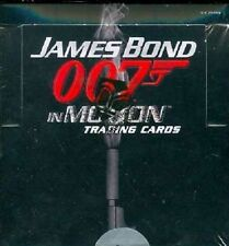 JAMES BOND 007 IN MOTION T/C BOX ~ Autograph - Chase & Lenticular Motion Cards