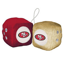 NFL Fuzzy Dice, San Francisco 49ers, NEW