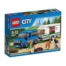 LEGO CITY - Van & Caravan - 60117  * AUSTRALIAN STOCK IN HAND *