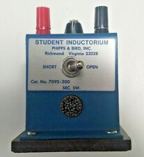 Phipps Amp Bird Inductorium 7092 200 Sargent Welsh S 44037 15 Student Lab Equip