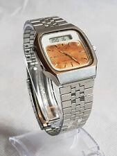 Beautiful Vintage Seiko Alarm Chronograph Quartz Watch