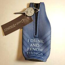 Game of Thrones Beer Bottle Zip Up Koozie Hbo Exclusive Tyrion Lannister Quote