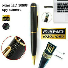 Spy Hidden Camera Pen Recorder 1080P HD Security Mini Portable Pocket Body Cam