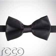 Noir pour garçons nœud papillon bandeau garçon d'honneur bal mariage