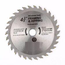 """4-3/8"""" X 30T Carbide Saw Blade"""