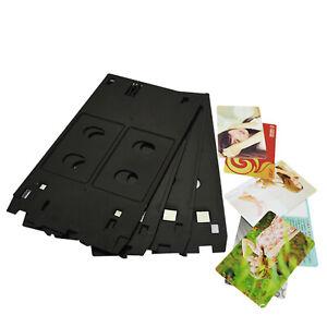 Inkjet PVC ID Card Tray Plastic Printer for Canon MG5400 MG5420 iP7200 P7210