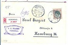 NEDERLAND 1913 REG CV VEENENDAAL - HAMBURG   VW PR
