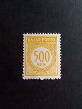 Bajar Porto STAMP 1962 Indonesia 500 SEN inutilizzati