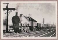 Class 7 Freight Locomotive 0-8-0 Coal Mineral Railroad Train 1930s Trade Ad Card