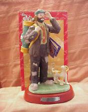 Emmett Kelly Jr = Flambro Professional Series Figurine - Golfer w/Original Box