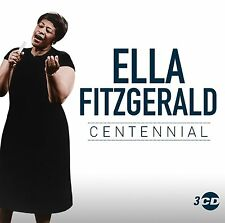 Ella Fitzgerald Centennial 100 Years Anniversary The Very Best Of 3 CD Box set