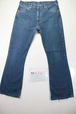 Levi's 516 Bootcut Indigo (Cod. M1470)tg50 W36 L34 jeans usato vintage zampa