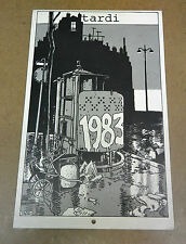 TARDI - CALENDRIER - ALMANACH DU CRIME - 1983 - FUTUROPOLIS (TBE)