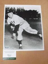 Ed Lopat, New York Yankees, Signed 8 x 10 Photo, B&W, SGC COA