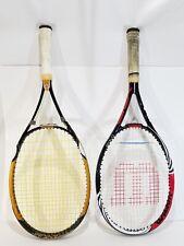 New listing Wilson BLX Bold Tennis Racquet 100 Sq 16x20 w/case + Titanium Blade Comp GS0358