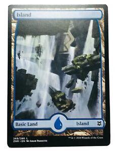 MTG. Zendikar Rising. ZNR. 269. Island.