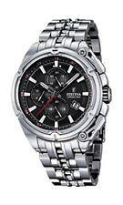 Festina F16881/4 - Reloj de pulsera hombre, Acero inoxidable, color Plateado