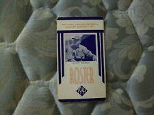 1941 BOSTON BRAVES MEDIA GUIDE ROSTER CASEY STENGEL New York Yankees Program AD