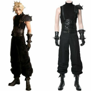 Final Fantasy VII 7 Remake Cloud Strife Cosplay Costume