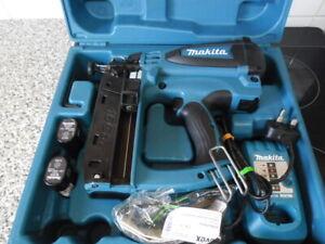 Makita GF600 Second fix nail gun, gas nailer, same as Paslode