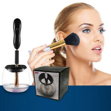Makeup Brush Cleaner and Dryer Kit Luxsego Electronic Spinner Tool With Bowl 8