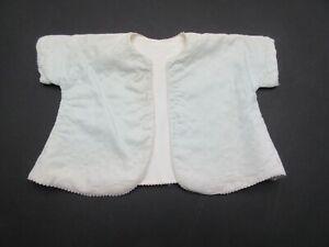 Vintage pale blue baby matinee jacket dress stage costume