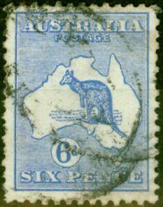 Australia 1913 6d Ultramarine SG9 Good Used
