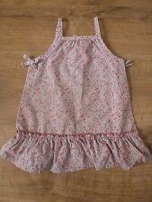 Grain de blé***Jolie robe 3 mois 60 cm Liberty Print Rose 100% coton