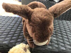 "RUSS Yomiko Classics Brown Dutch Bunny Rabbit 13"" Excellent Soft Plush"